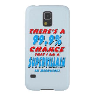 99.9% I am a SUPER VILLAIN (blk) Galaxy S5 Covers