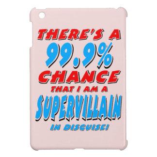 99.9% I am a SUPER VILLAIN (blk) iPad Mini Case
