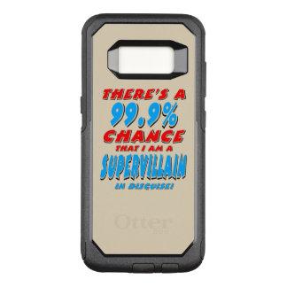 99.9% I am a SUPER VILLAIN (blk) OtterBox Commuter Samsung Galaxy S8 Case