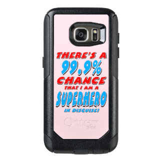 99.9% I am a SUPERHERO (blk) OtterBox Samsung Galaxy S7 Case