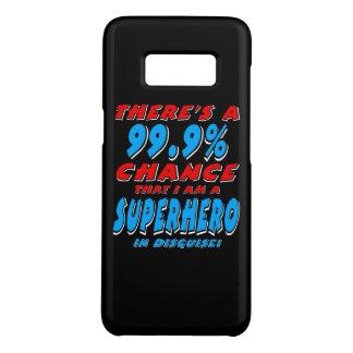 99.9% I am a SUPERHERO (wht) Case-Mate Samsung Galaxy S8 Case