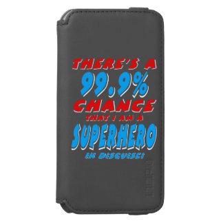 99.9% I am a SUPERHERO (wht) Incipio Watson™ iPhone 6 Wallet Case