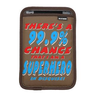 99.9% I am a SUPERHERO (wht) iPad Mini Sleeve