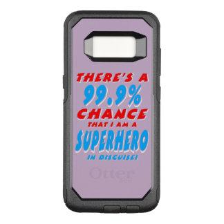 99.9% I am a SUPERHERO (wht) OtterBox Commuter Samsung Galaxy S8 Case