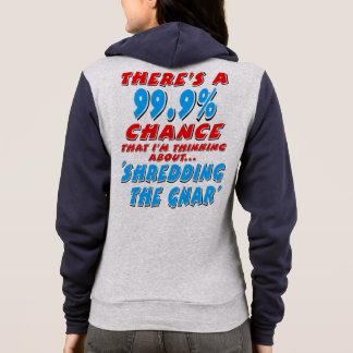 99.9% SHREDDING THE GNAR (blk) Hoodie