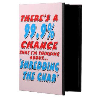 99.9% SHREDDING THE GNAR (blk) iPad Air Case