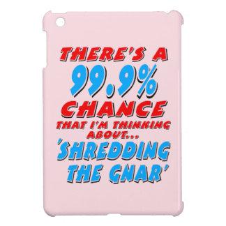 99.9% SHREDDING THE GNAR (blk) iPad Mini Covers