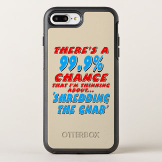 99.9% SHREDDING THE GNAR (blk) OtterBox Symmetry iPhone 8 Plus/7 Plus Case