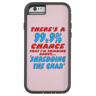 99.9% SHREDDING THE GNAR (blk) Tough Xtreme iPhone 6 Case