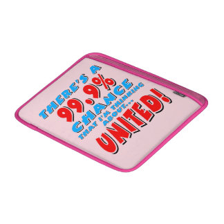 99.9% UNITED (blk) MacBook Sleeve