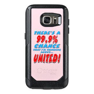 99.9% UNITED (blk) OtterBox Samsung Galaxy S7 Case