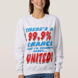 99.9% UNITED (blk) Sweatshirt