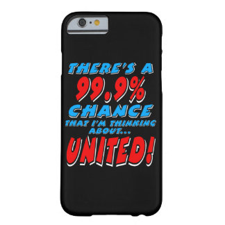 99.9% UNITED (wht) Barely There iPhone 6 Case