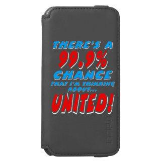 99.9% UNITED (wht) Incipio Watson™ iPhone 6 Wallet Case