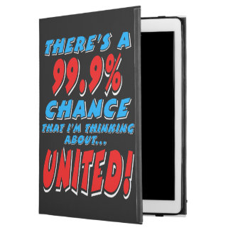 "99.9% UNITED (wht) iPad Pro 12.9"" Case"