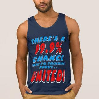 99.9% UNITED (wht) Singlet