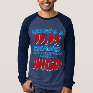 99.9% UNITED (wht) T-Shirt