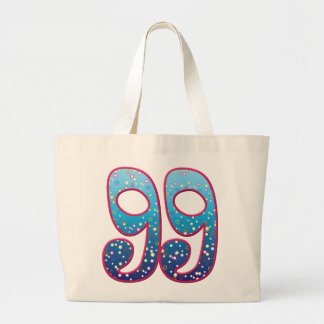 99 Age Rave Jumbo Tote Bag