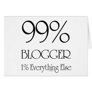 99% Blogger Card