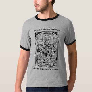 99 Bottles of Mead on the Wall tshirt