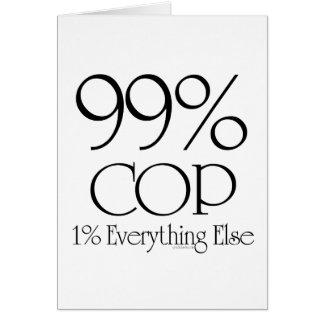 99% Cop Card