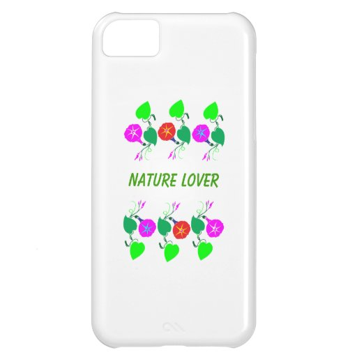 99  GIFTS : Nature Lover Girly Flower Prints Cover For iPhone 5C