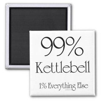 99% Kettlebell Square Magnet