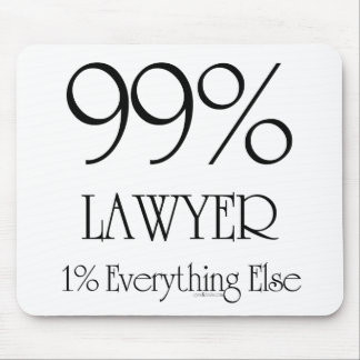 99% Lawyer Mousepads