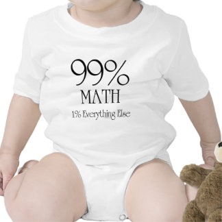 99% Math Shirts
