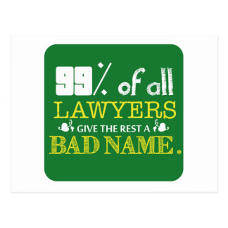 99% of all Lawyers Post Card