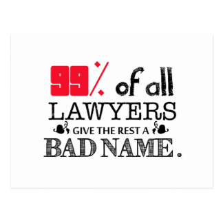 99% of all Lawyers Post Cards