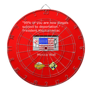 99% of Americans Dartboard