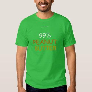 99% PEANUT BUTTER TEE SHIRT