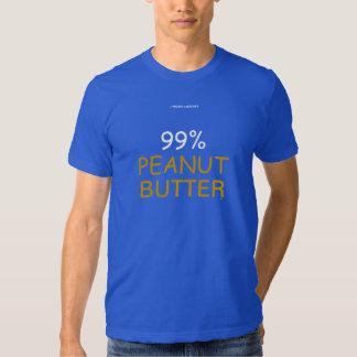 99% PEANUT BUTTER TSHIRTS