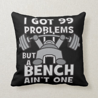99 Problems But A Bench Ain't One - Kawaii Workout Cushion