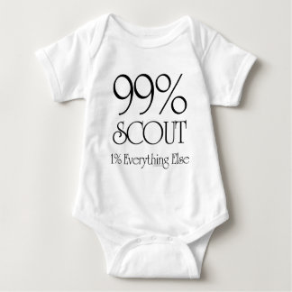 99% Scout Baby Bodysuit