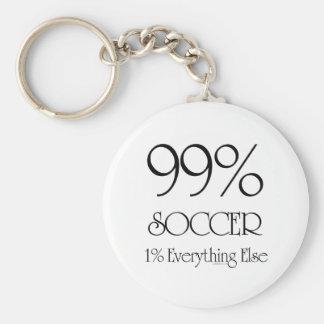 99% Soccer Keychain