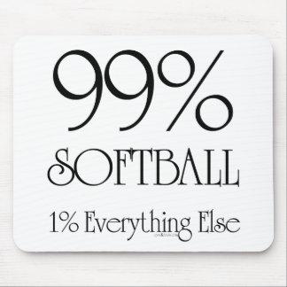 99% Softball Mousepads