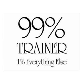 99% Trainer Postcard