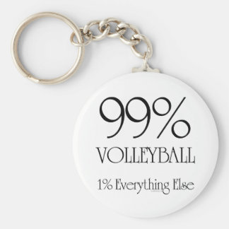 99% Volleyball Key Ring