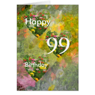 99th Birthday Card