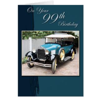 99th Birthday Card