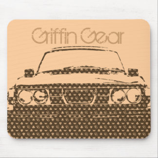 99turbo_GG_brwn, Griffin Gear Mouse Pad