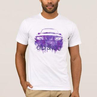 99turbo water color grunge purple, old skool T-Shirt