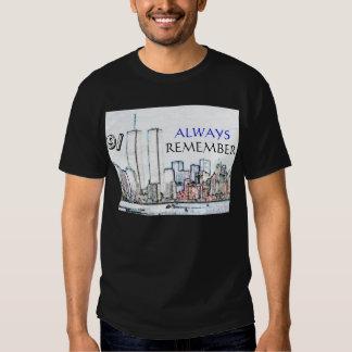 9/11 Always Remember T-shirt
