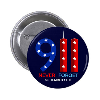 9/11 Anniversary - Never Forget - WTC Pins