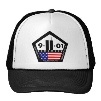 9 11 Never Forget, Always Remember Mesh Hats