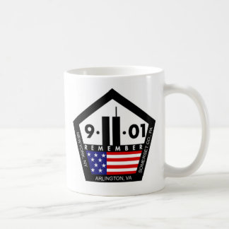 9 11 Never Forget, Always Remember Coffee Mug