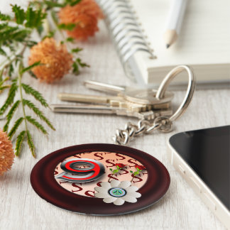 9-11 peace key ring