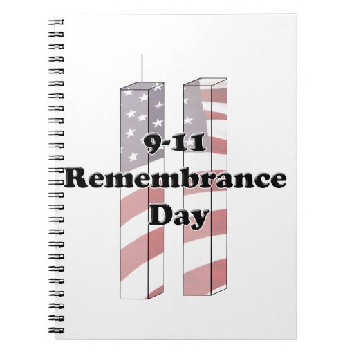 9-11 Remembrance  Day - Patriot Day Notebooks